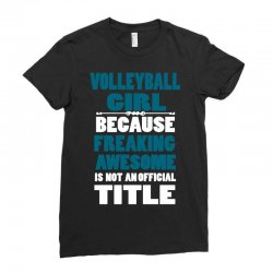 volleyball girl Ladies Fitted T-Shirt | Artistshot