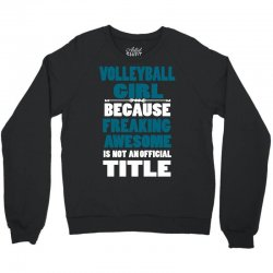 volleyball girl Crewneck Sweatshirt | Artistshot