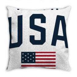 team usa olympics Throw Pillow | Artistshot