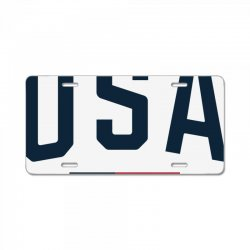 team usa olympics License Plate | Artistshot