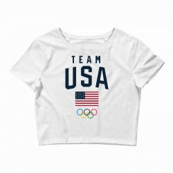 team usa olympics Crop Top | Artistshot