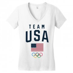 team usa olympics Women's V-Neck T-Shirt | Artistshot