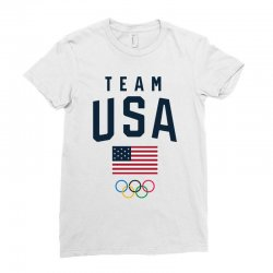 team usa olympics Ladies Fitted T-Shirt | Artistshot
