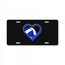 volleyball heart License Plate | Artistshot