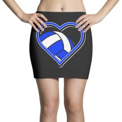 volleyball heart Mini Skirts | Artistshot