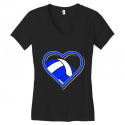 volleyball heart Women's V-Neck T-Shirt | Artistshot