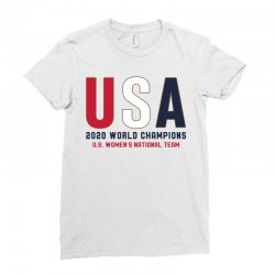 usa 2020 world champions Ladies Fitted T-Shirt | Artistshot