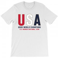usa 2020 world champions T-Shirt | Artistshot