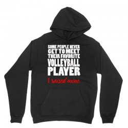 volleyball i raised mine Unisex Hoodie | Artistshot