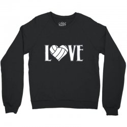 volleyball love Crewneck Sweatshirt | Artistshot