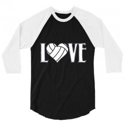 volleyball love 3/4 Sleeve Shirt | Artistshot