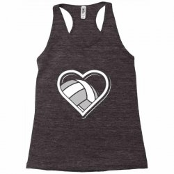 volleyball love heart Racerback Tank | Artistshot