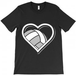 volleyball love heart T-Shirt | Artistshot