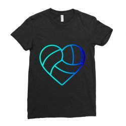 volleyball love Ladies Fitted T-Shirt | Artistshot
