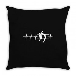 volleyball shooting Throw Pillow | Artistshot