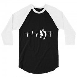 volleyball shooting 3/4 Sleeve Shirt | Artistshot