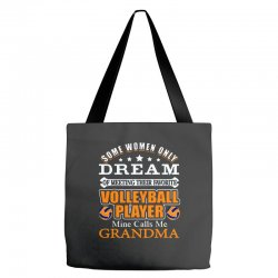 volleyball some women only dream ok ... Tote Bags | Artistshot