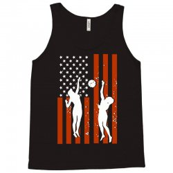 volleyball two players american flag Tank Top   Artistshot
