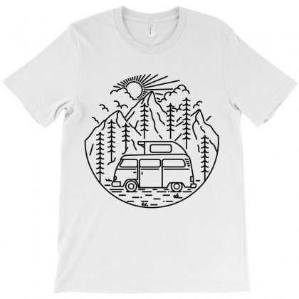 Van And Nature T-shirt Designed By Quilimo