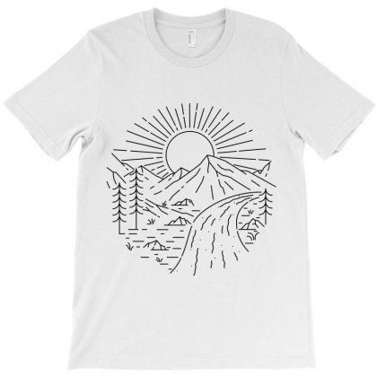 River T-shirt Designed By Quilimo
