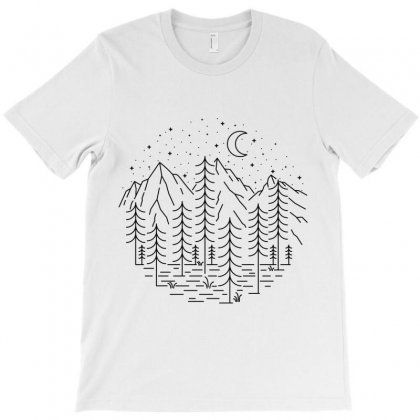 Trees T-shirt Designed By Quilimo