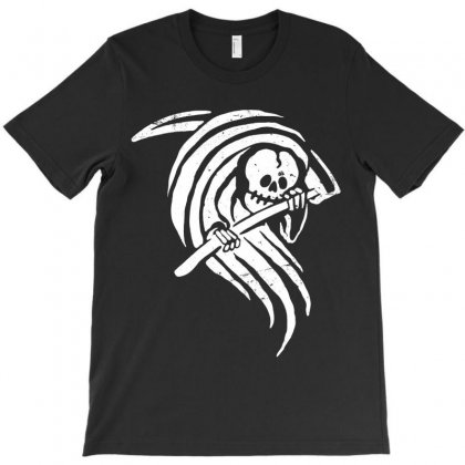 Grim Reaper T-shirt Designed By Quilimo
