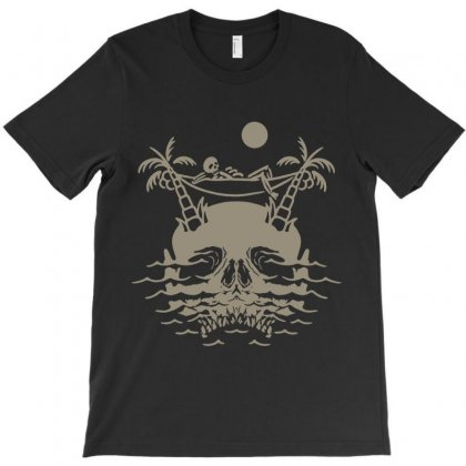 Skull Island T-shirt Designed By Quilimo