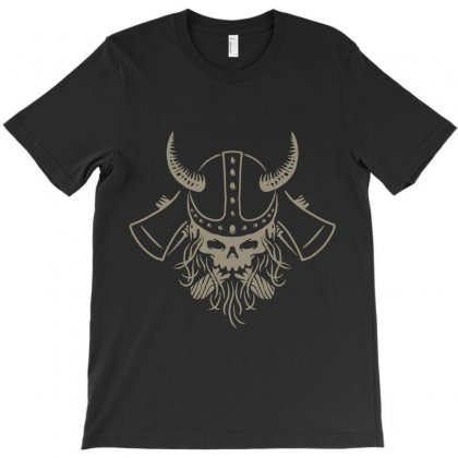 Viking T-shirt Designed By Quilimo