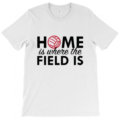 Home Is Where The Field Is T-shirt Designed By Hoainv