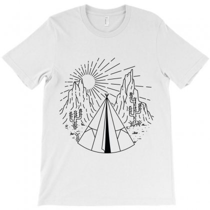 Indian Camp T-shirt Designed By Quilimo