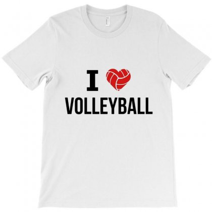 I Love Volleyball T-shirt Designed By Hoainv