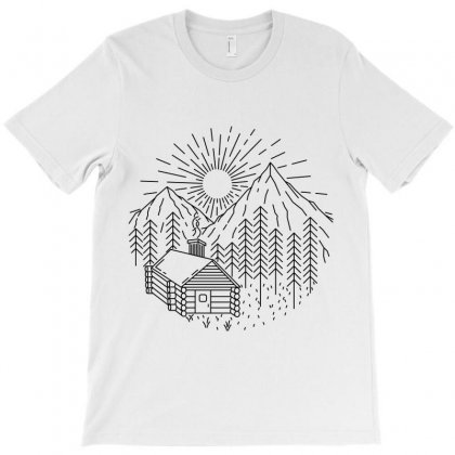 Home Sweet Home T-shirt Designed By Quilimo