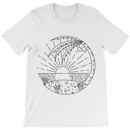 Beach T-shirt Designed By Quilimo