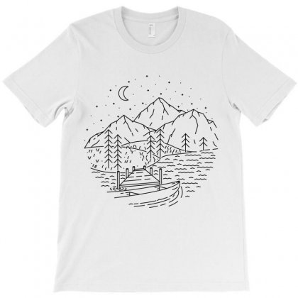 Lake T-shirt Designed By Quilimo