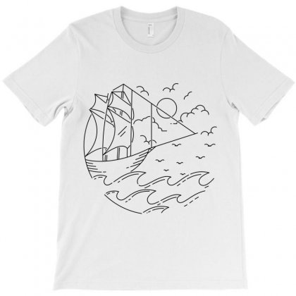 Adventurer T-shirt Designed By Quilimo