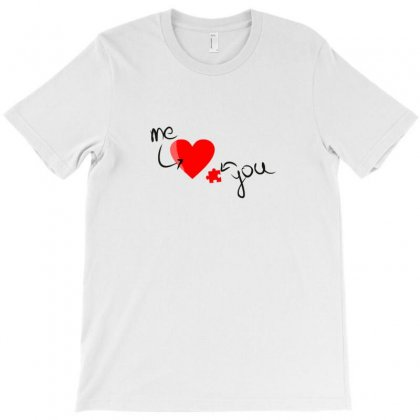 Valentines   Me & You T-shirt Designed By Wd650