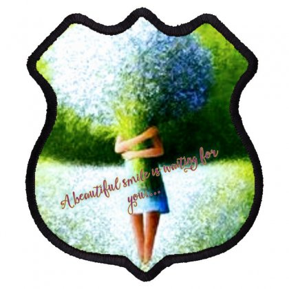 Beautiful Smile Shield Patch Designed By Neelima K