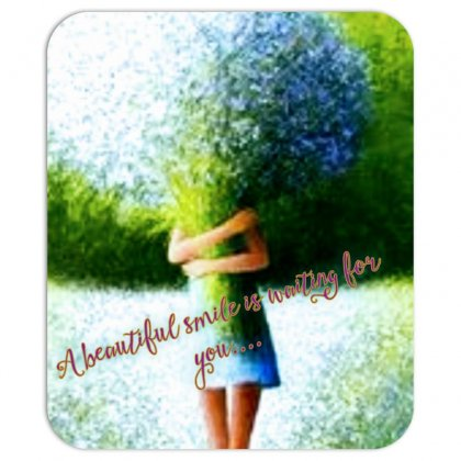 Beautiful Smile Mousepad Designed By Neelima K