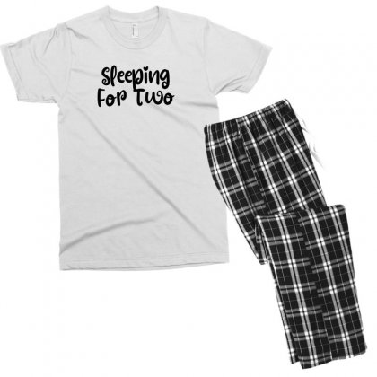 Sleeping For Two Men's T-shirt Pajama Set Designed By Thebestisback