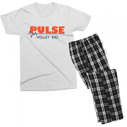 Pulse   Volley Kid Men's T-shirt Pajama Set Designed By Hoainv