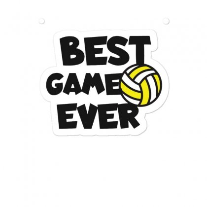 Volleyball Best Game Ever Sticker Designed By Hoainv