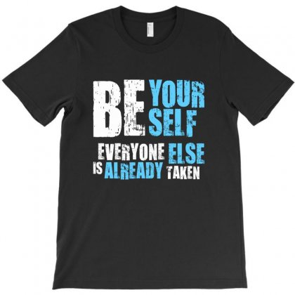 Be Yourself T-shirt Designed By Designisfun