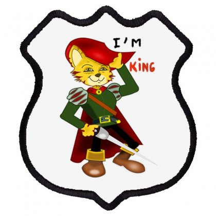 I'm King Shield Patch Designed By Nad