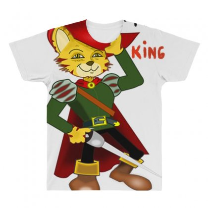 I'm King All Over Men's T-shirt Designed By Nad
