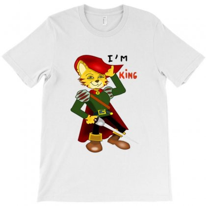I'm King T-shirt Designed By Nad