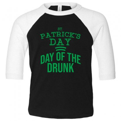 Day Of The Drunk Toddler 3/4 Sleeve Tee Designed By Cypryanus