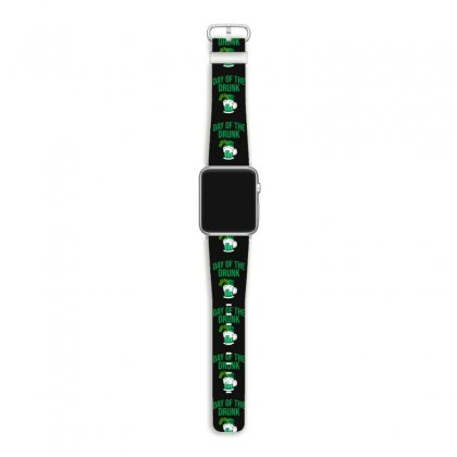 Day Of The Drunk - St Patrick's Day Apple Watch Band Designed By Cypryanus