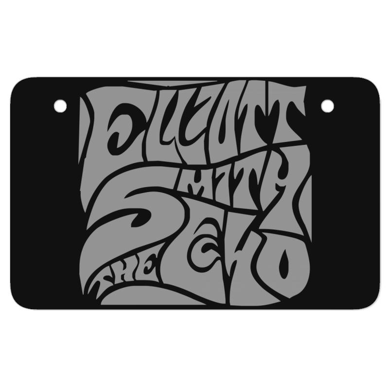 New Elliott Smith Atv License Plate | Artistshot