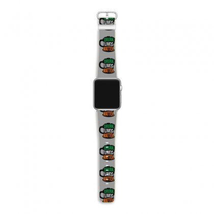 Drunk Lives Matter,  Saint Patrick's Day Gift Apple Watch Band Designed By Cypryanus