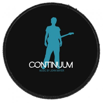 New John Mayer   Continuum Logo Round Patch Designed By Fanshirt
